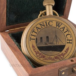 Titanic Ship Pocket Watch
