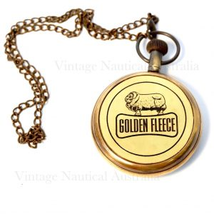 Golden Fleece Pocket Watch
