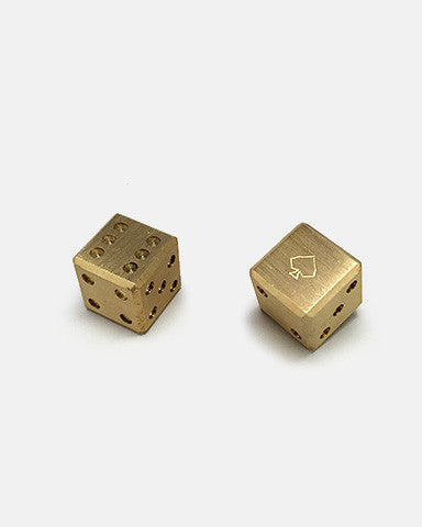 Art of Play Brass Dice