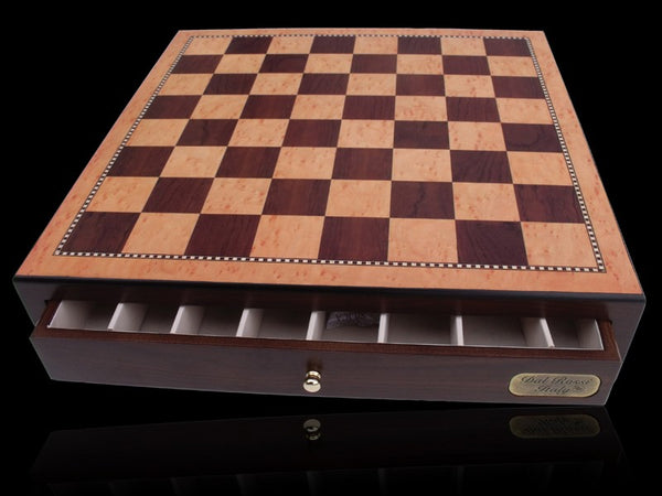 Chess Box Red Mahogany