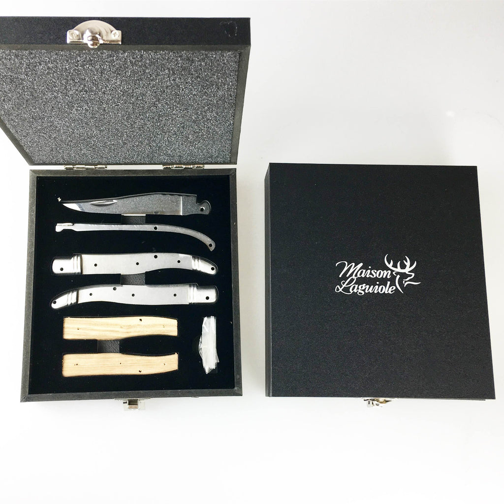 Maison laguiole diy folding knife kit hommes uniques maison laguiole diy folding knife kit solutioingenieria Image collections