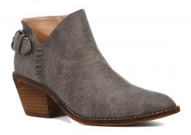 Corkys Distressed Grey Booties