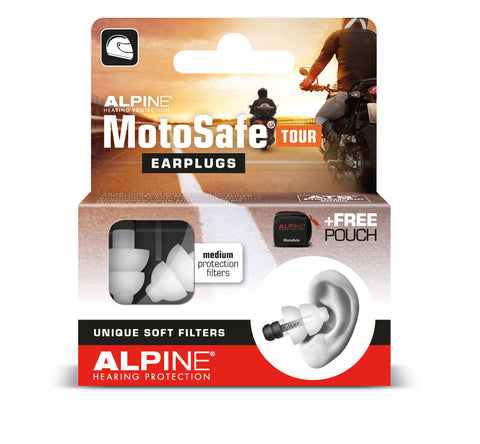 Alpine Motosafe Touring Earplugs