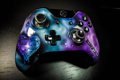MsHeartAttack Space Nebula Themed Controller