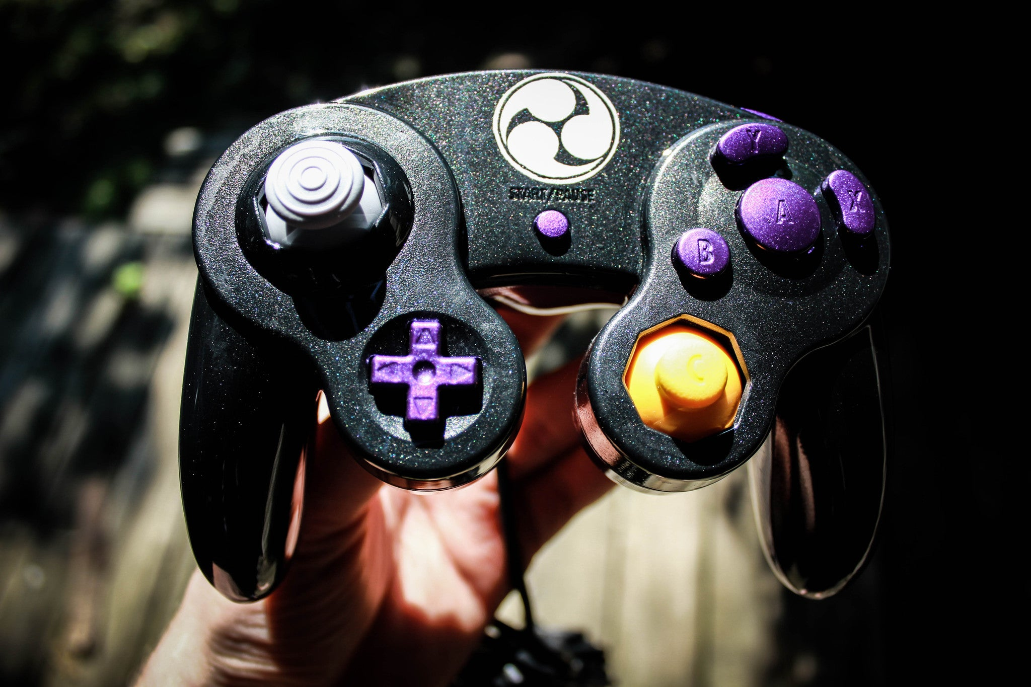 Custom Nintendo Super Smash Bros. Classic Gamecube Controller for Wii U