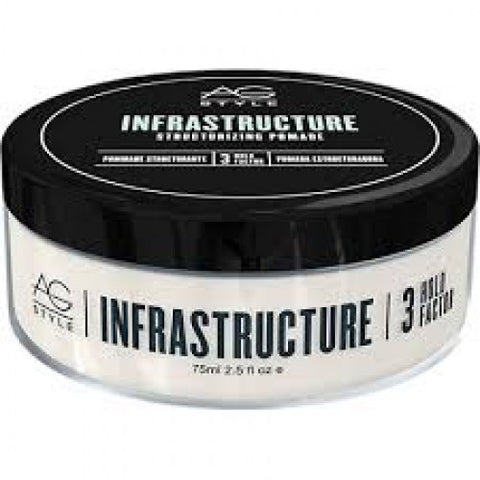 AG Hair - Style Infrastructure Structurizing Pomade 3oz