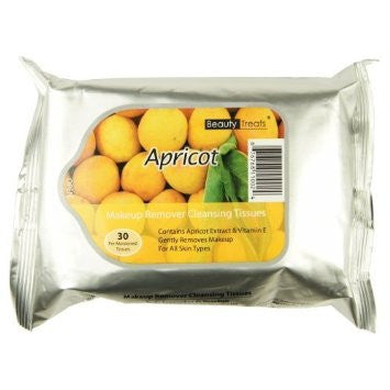 Beauty Treats Apricot Makeup Remover Cleansing Tissues