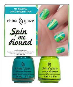 China Glaze Spin Me Round Nail Lacquers Kit 2 oz