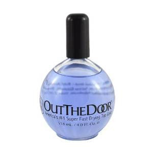 INM Out The Door Super Fast Drying Top Coat 118ml/4oz (Refill) by INM