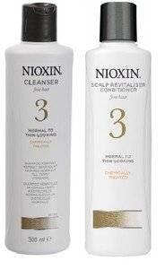 Nioxin Cleanser & Scalp Therapy System 3 - Shampoo & Conditioner Duo/Twin Pac...