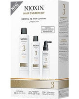 Nioxin System 3 Thinning Hair Kit for Fine Chemically Enhanced Normal-Thin Hair