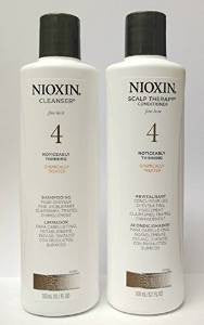 Nioxin System 4 Cleanser Shampoo 10.1 oz. & Scalp Therapy Conditioner 10.1 oz duo