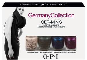 OPI 2012 Germany Collection Ger-minis