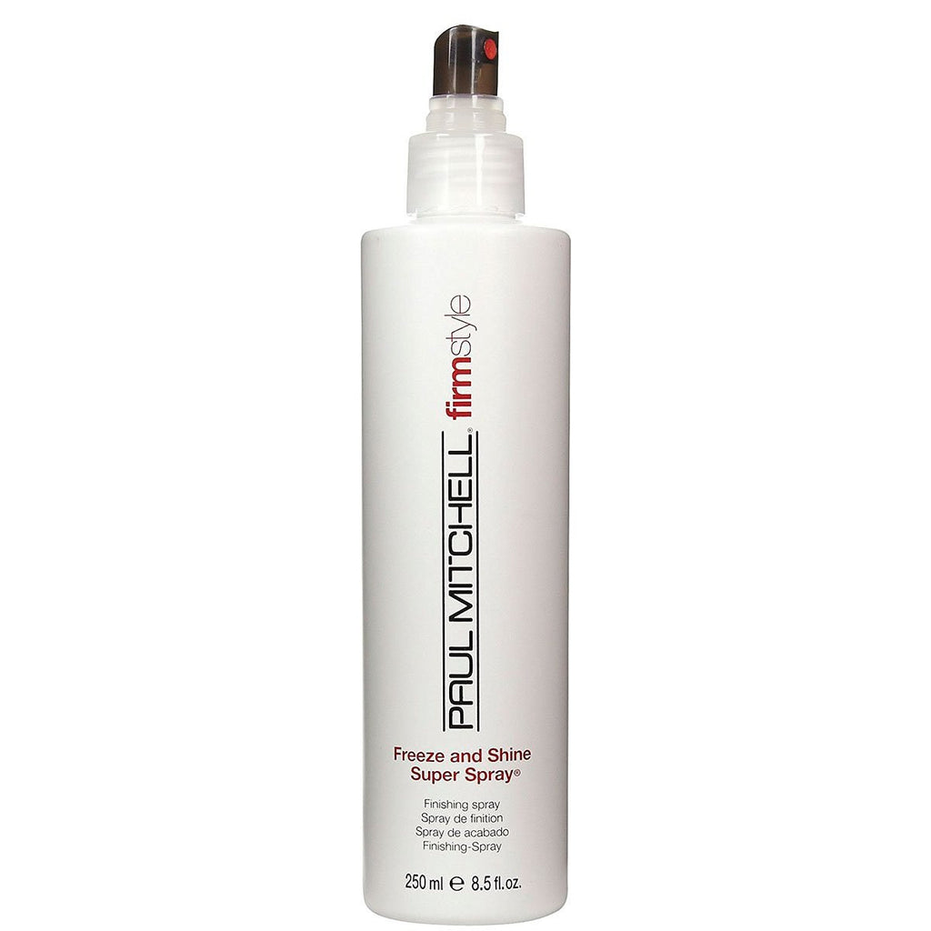 Paul Mitchell Freeze and Shine Super Spray for Unisex-8.5-Ounce