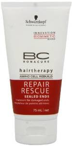 Schwarzkopf BC Repair Rescue Sealed Ends Treatment (For Damaged Ends) 2.5oz