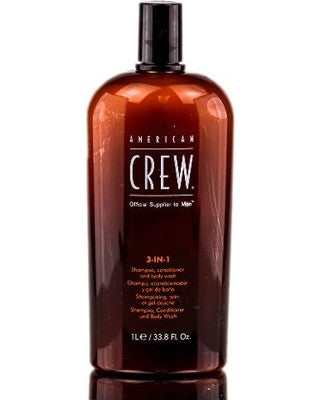 American Crew Classic 3-in-1 Shampoo, Conditioner & Body Wash  33.8oz