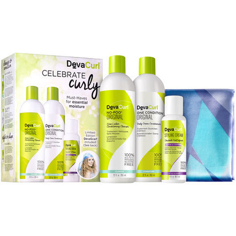 DevaCurl Celebrate Curls Holiday Kit