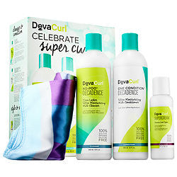 Deva Curl Celebrate Super Curly Decadsence Set