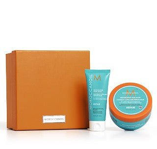 Moroccanoil Restorative Mask Home & Away Set
