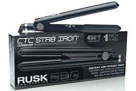 Rusk Professional Str8 Iron Infused With CTC Technology 1""