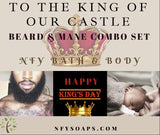 Beard & Mane Combo Set - Naturally For You Bath and Body