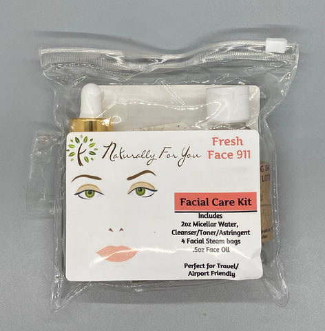 Fresh Face 911 Facial Kit - Naturally For You Bath and Body