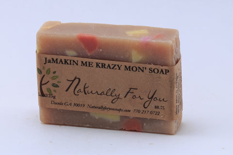 JaMakin Me Krazy Mon'--Big Bar - Naturally For You Bath n Body