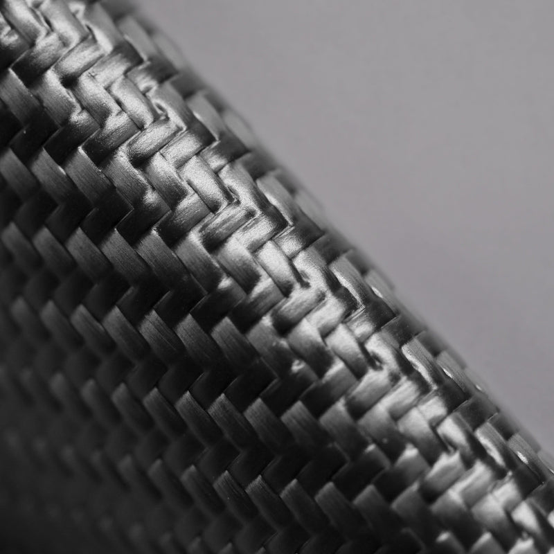Carbon Fiber Speed Wallet Mini Black Side Texture Macro Detail