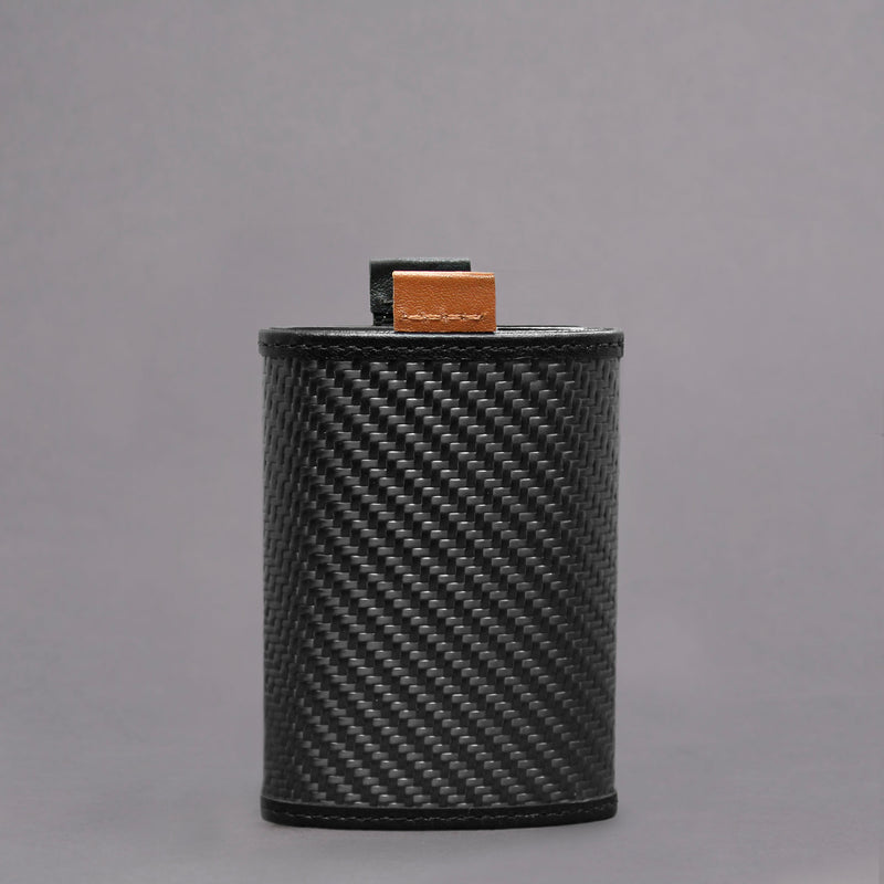 Carbon Fiber Speed Wallet Mini Black Back
