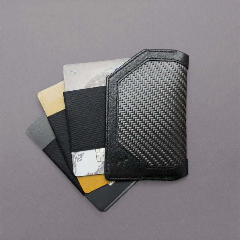 Carbon Fiber Speed Card Holder 2.0 Back
