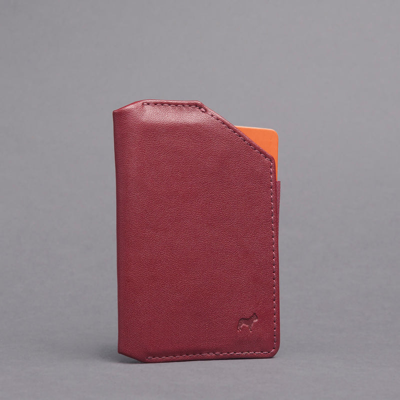 Speed Phone Wallet Burgundy