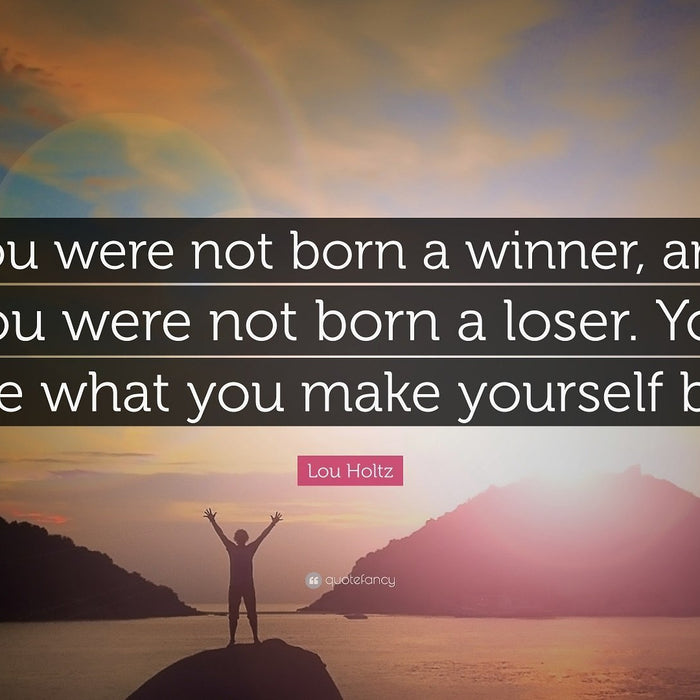 Stop Calling Yourself A Loser