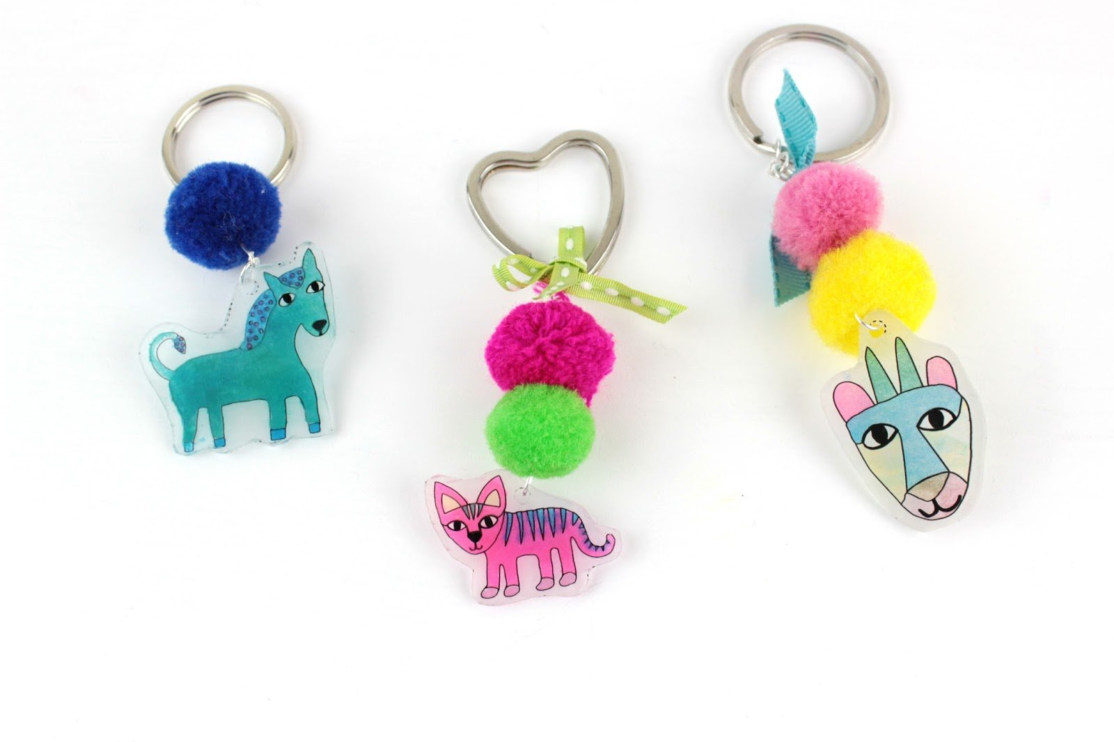 Put Your Love Of Animals On Full Display With An Adorable Keychain