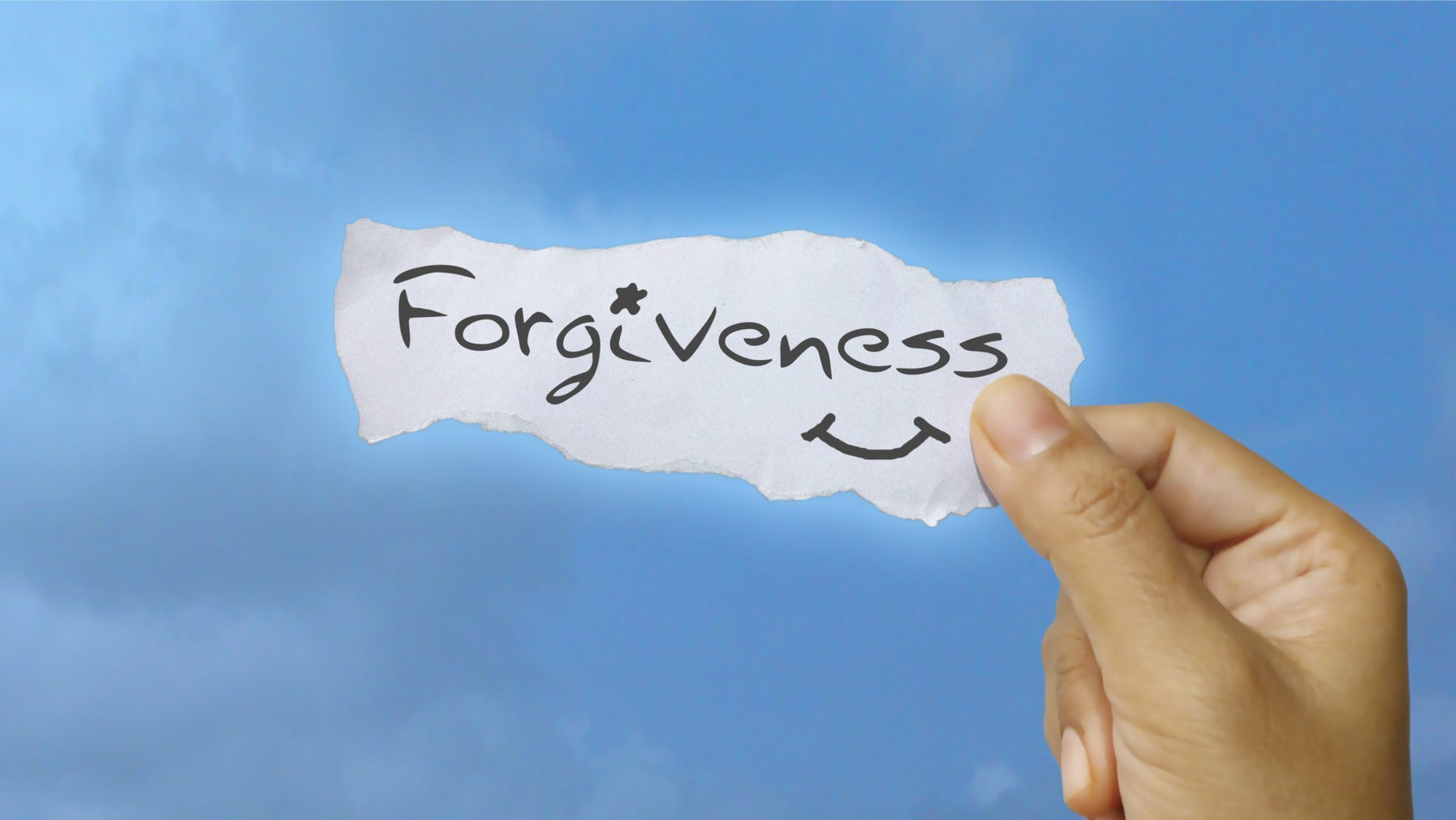 How I Learned to Forgive