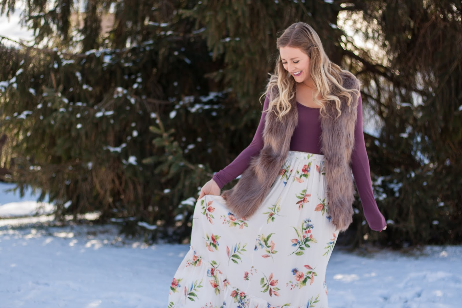 Five Ways To Wear Floral Print In The Winter