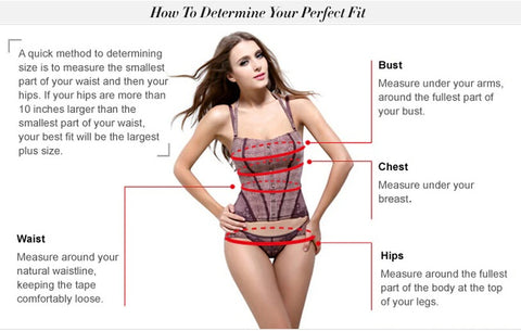 How to measure your body for a swimsuit