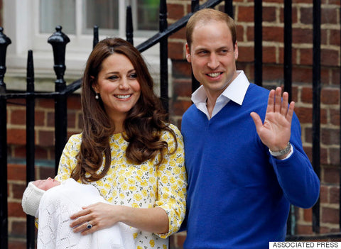 Duchess Kate introduced Princess Charlotte to the world