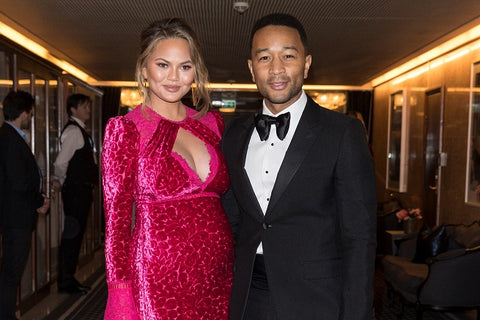 Pregnant Chrissy Teigen Attends Noble Peace Prize where John Legend was honored.