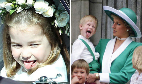 Princess Charlotte and Prince Harry