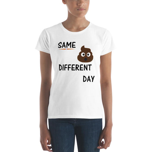 Landog Women's (Same Crap Different Day) short sleeve t-shirt - SolaceConnect.com