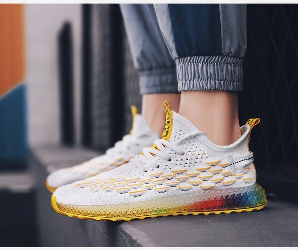 Man Sport Running Shoes Men Jogging Flat Trainers Summer Athletic Footwear Male Mesh Sneakers - SolaceConnect.com