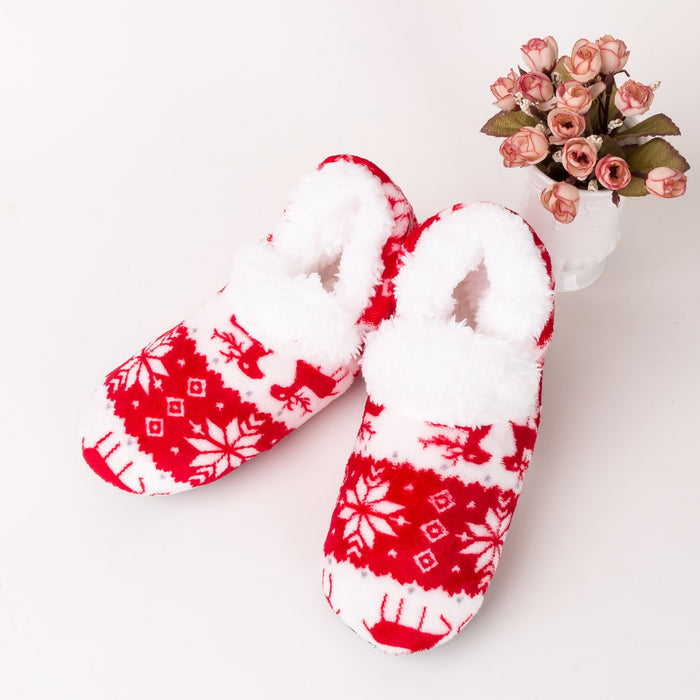Fashion Women's Adult Winter Warm Non-slip Thermal Bedroom Floor Socks - SolaceConnect.com