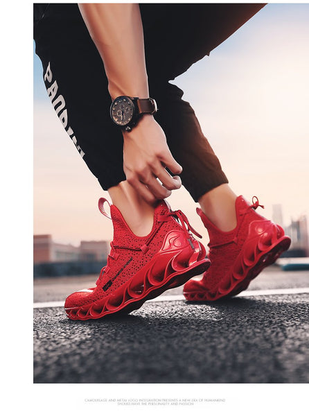 Outdoor Athletic Sports Breathable Running Sneakers for Men - SolaceConnect.com