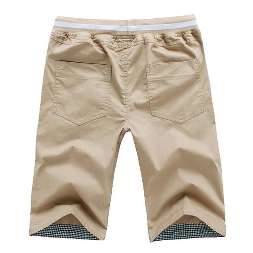 Men's Homme Beach Slim Fit Cotton Bermuda Shorts & Masculina Joggers - SolaceConnect.com