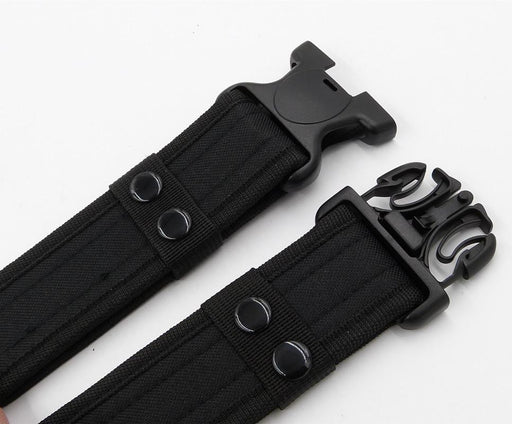 Canvas Army Equipment Combat Tactical Quick Release Men's Belt - SolaceConnect.com