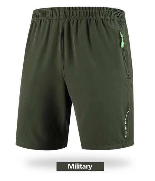 Plus Size Joggers Loose Casual Beach Shorts for Men with Quick Dry - SolaceConnect.com