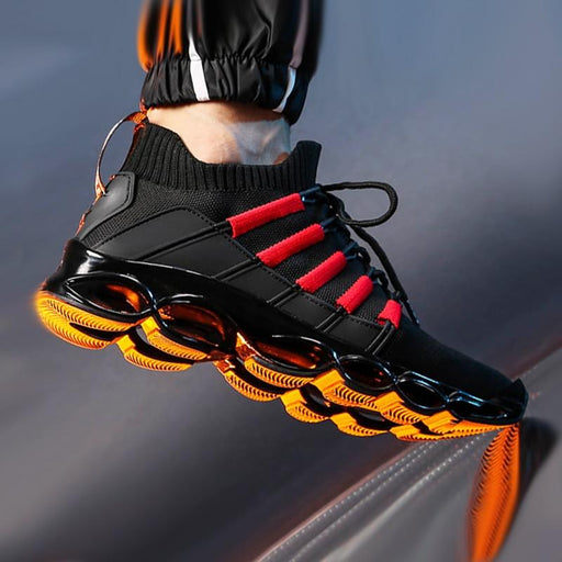 Blade Shoes Breathable Running Shoes Fashion Sneakers Comfortable Jogging Shoes - SolaceConnect.com