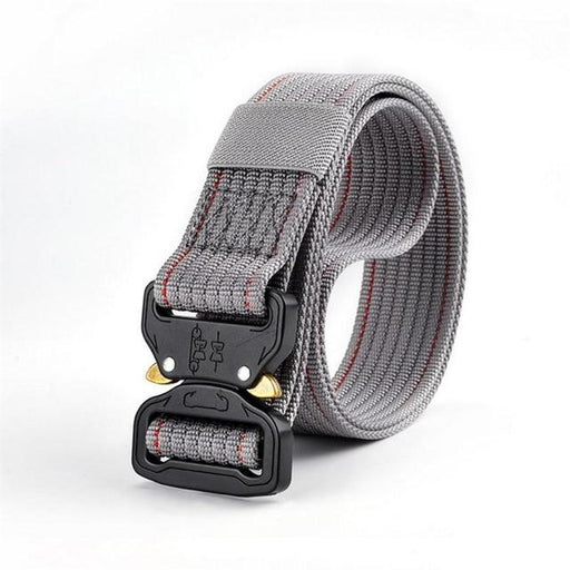 Canvas Nylon Quick Release Buckle Army Style Combat Fashion Belt for Men - SolaceConnect.com