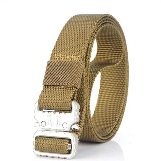 Canvas Nylon Multifunctional Quick Release Metal Buckle Army Belts for Men - SolaceConnect.com