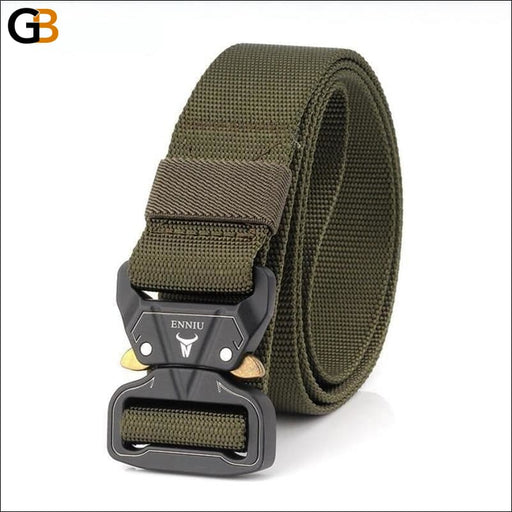 Canvas Nylon Multifunctional Quick Release Army Belts Metal Buckle for Men - SolaceConnect.com